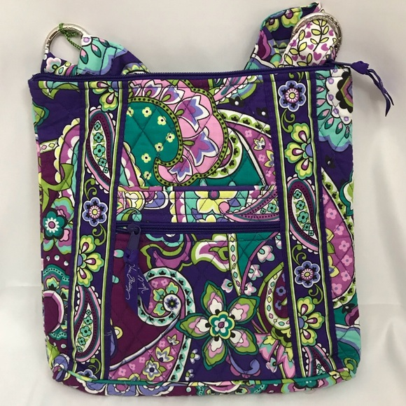 26d7d76cd1 Vera Bradley Heather Hipster Crossbody Bag NWT